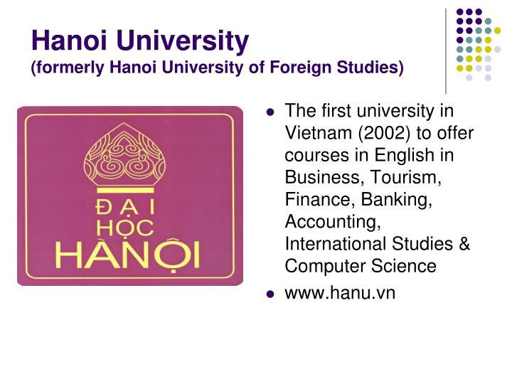 Hanoi University