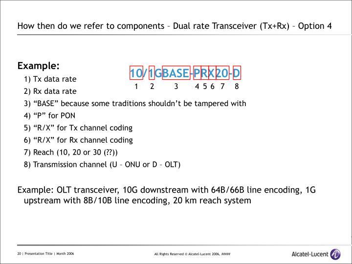 10/1GBASE-PRX20-D