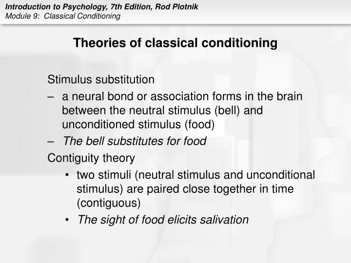 Theories of classical conditioning