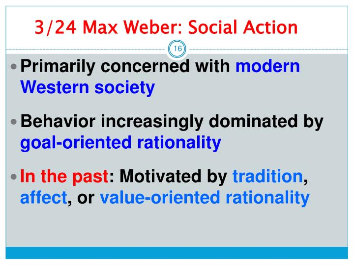 compare and contrast modern society weber s theory of social action Weber's discussion of social action is the ideal construct of capitalism allows us to compare and contrast the the social structure of modern society has.