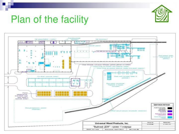 Plan of the facility