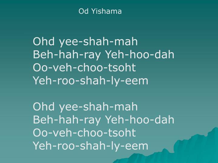 Od Yishama