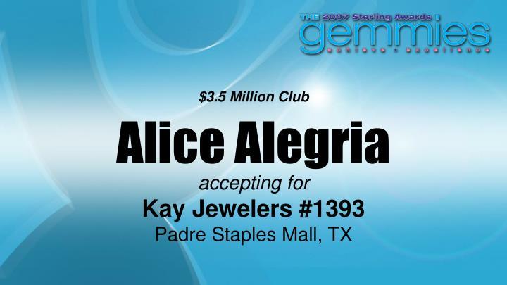 $3.5 Million Club