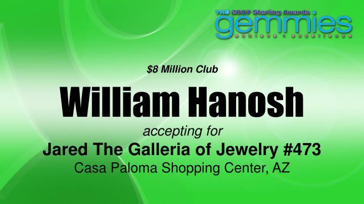 $8 Million Club