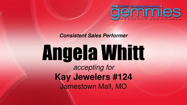 Consistent Sales Performer