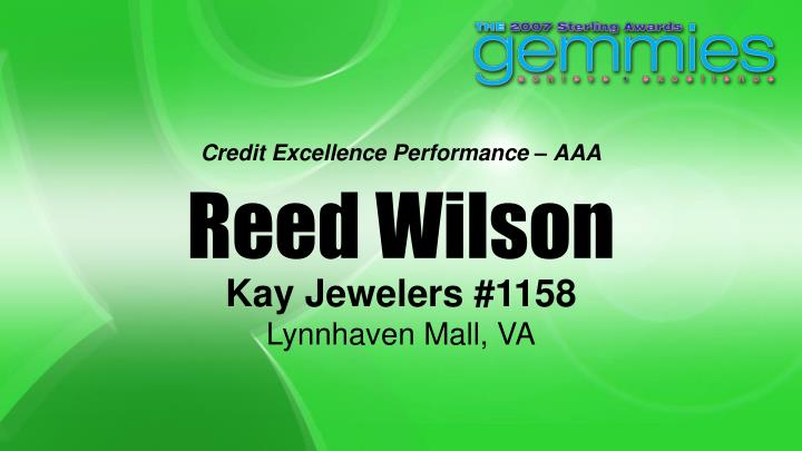Credit Excellence Performance – AAA