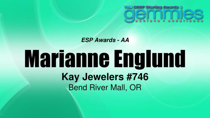 ESP Awards - AA