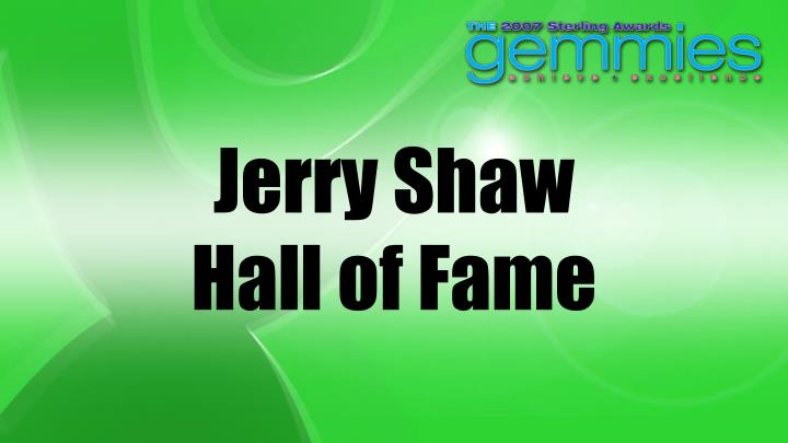 Jerry Shaw