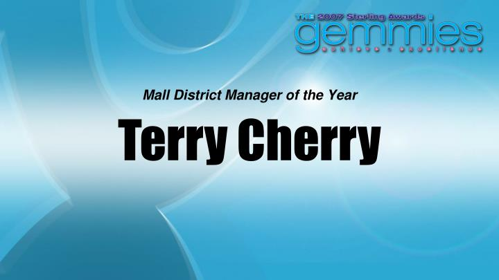Mall District Manager of the Year