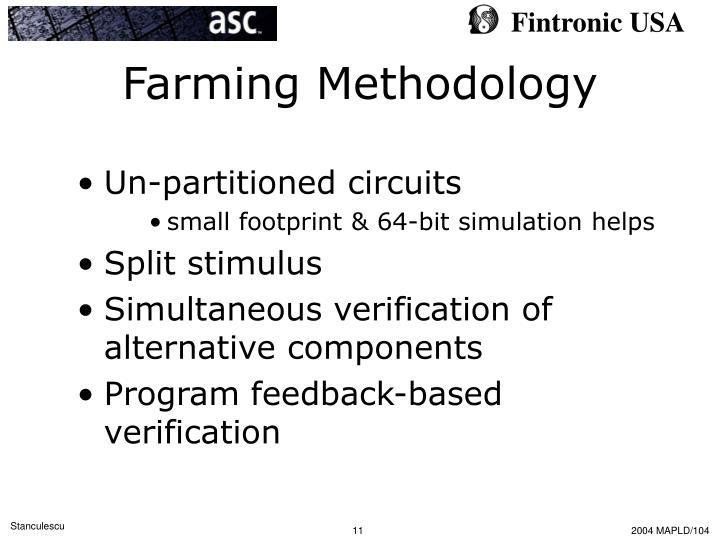 Farming Methodology