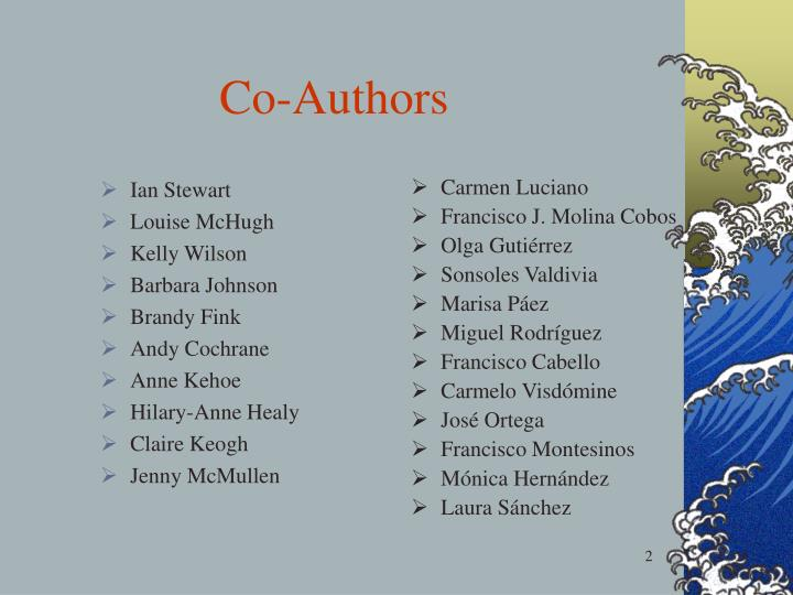 Co authors