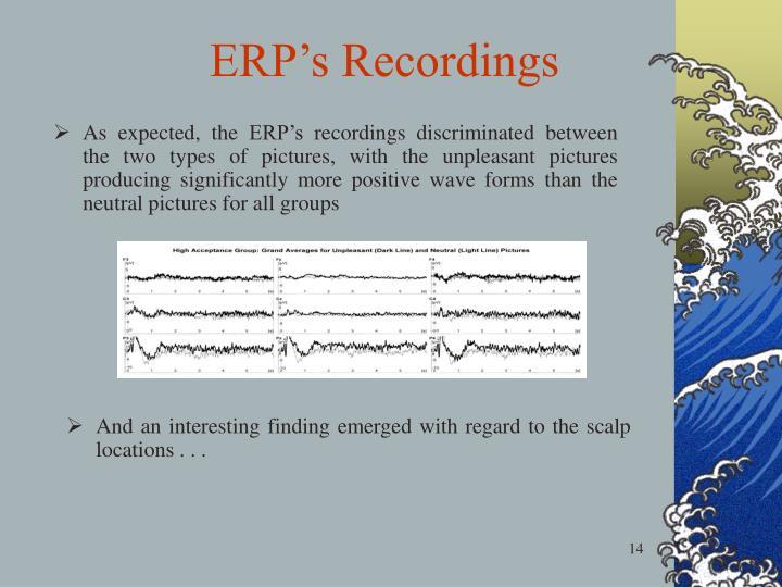 ERP's Recordings