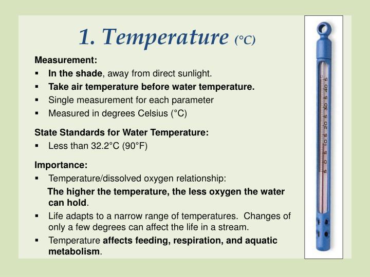 1. Temperature