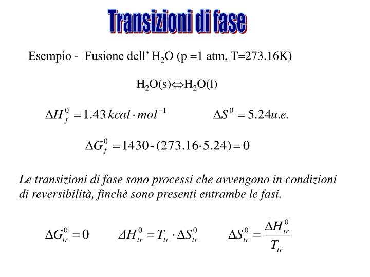 Transizioni di fase
