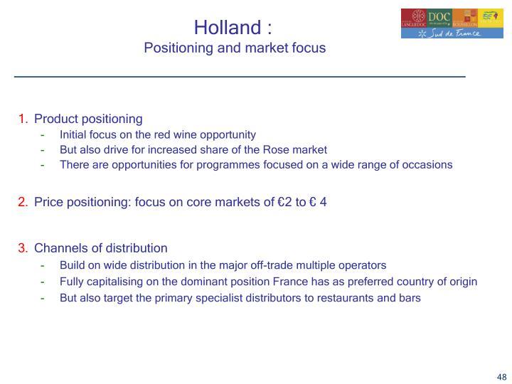 Holland :