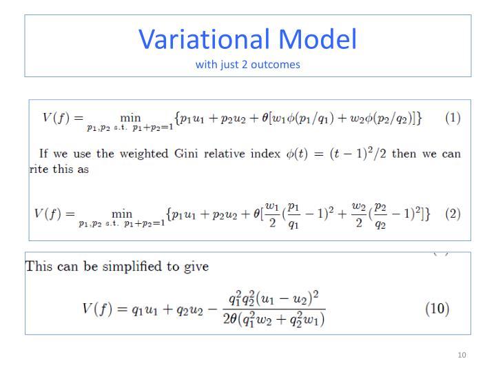 Variational Model
