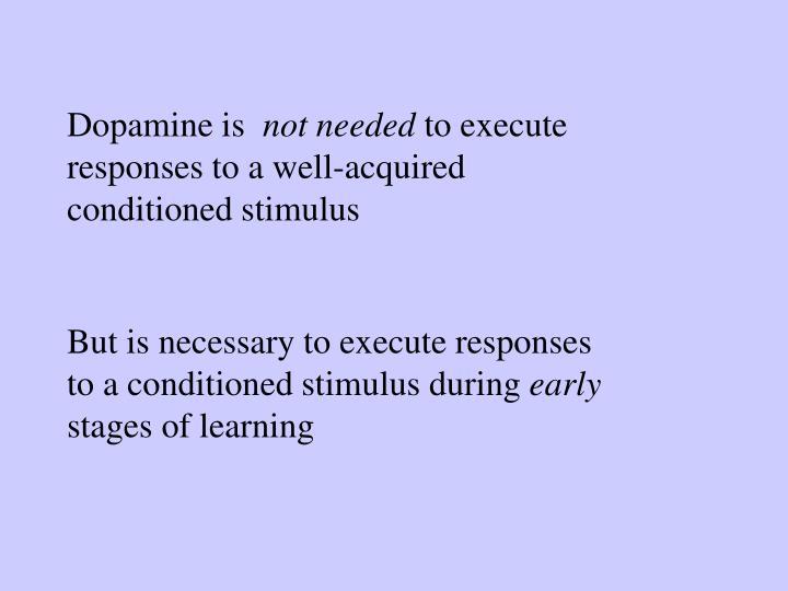 Dopamine is