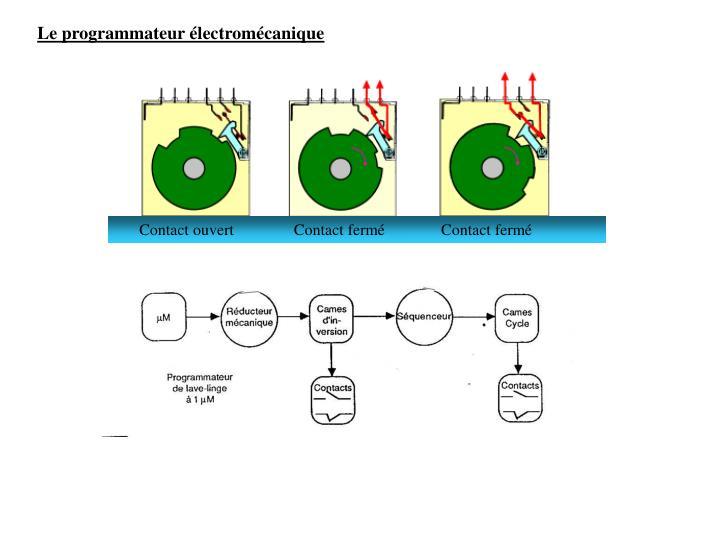 Le programmateur électromécanique