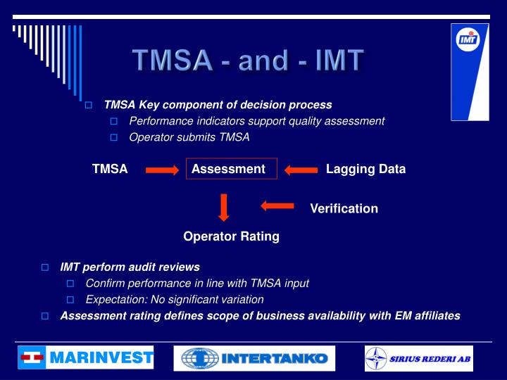 TMSA - and - IMT