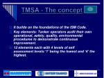 tmsa the concept