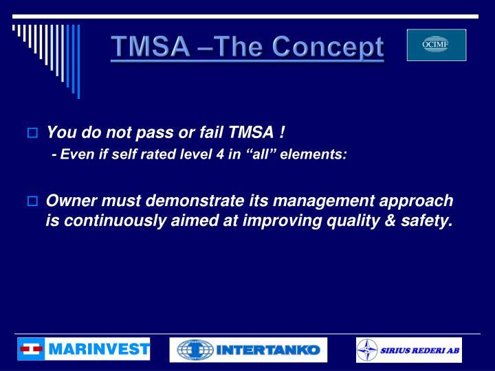 TMSA –The Concept