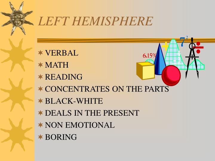 LEFT HEMISPHERE