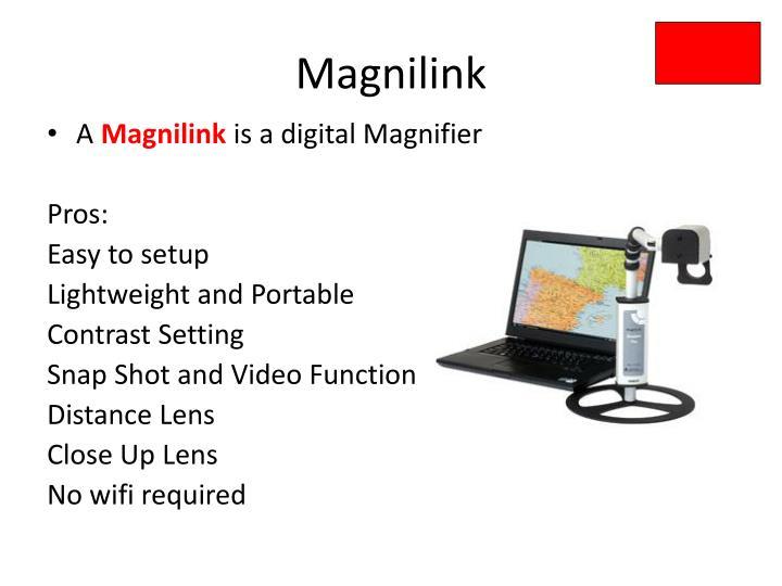Magnilink