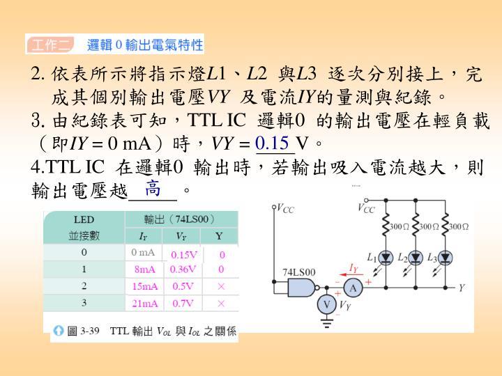 實習四 電氣特性量測實習