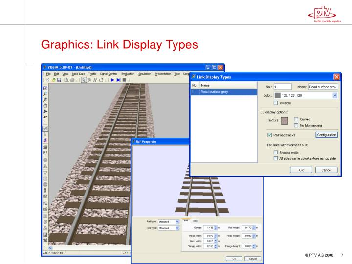 Graphics: Link Display Types