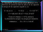4 7 densidad de energ a en un campo el ctrico