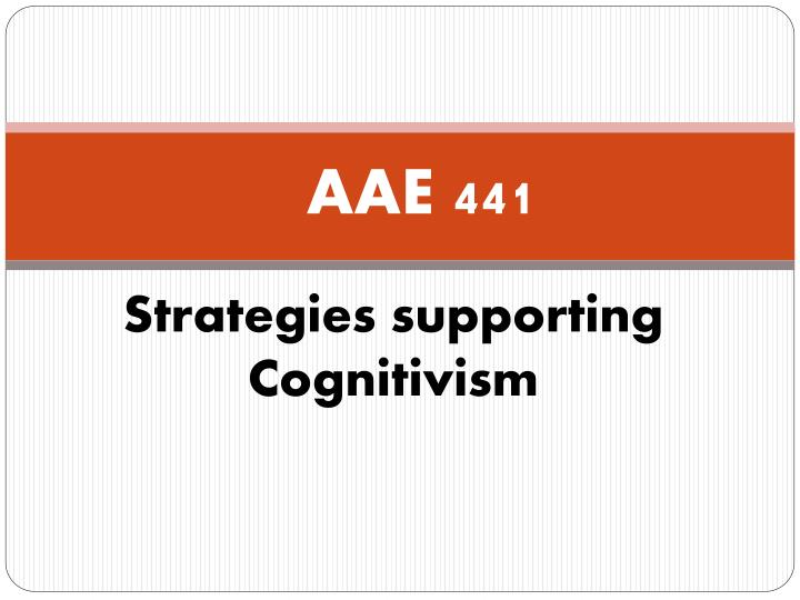 AAE 441
