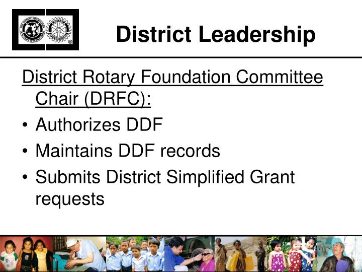 District Leadership