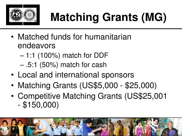 Matching Grants (MG)