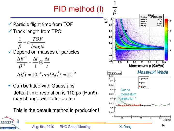PID method (I)