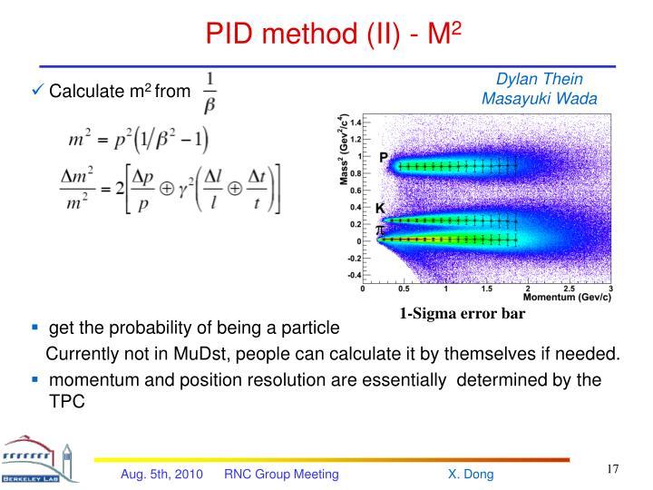 PID method (II) - M