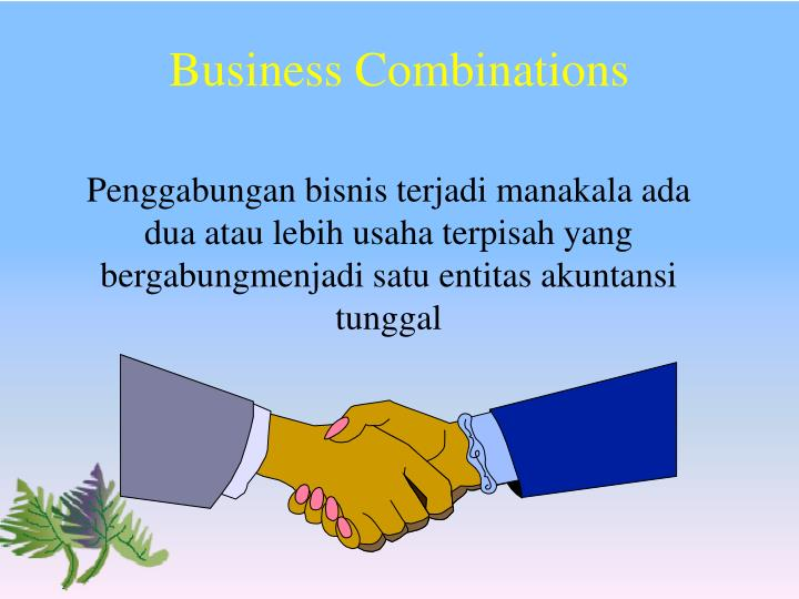 Business combinations1