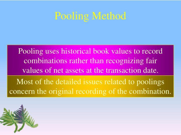 Pooling Method