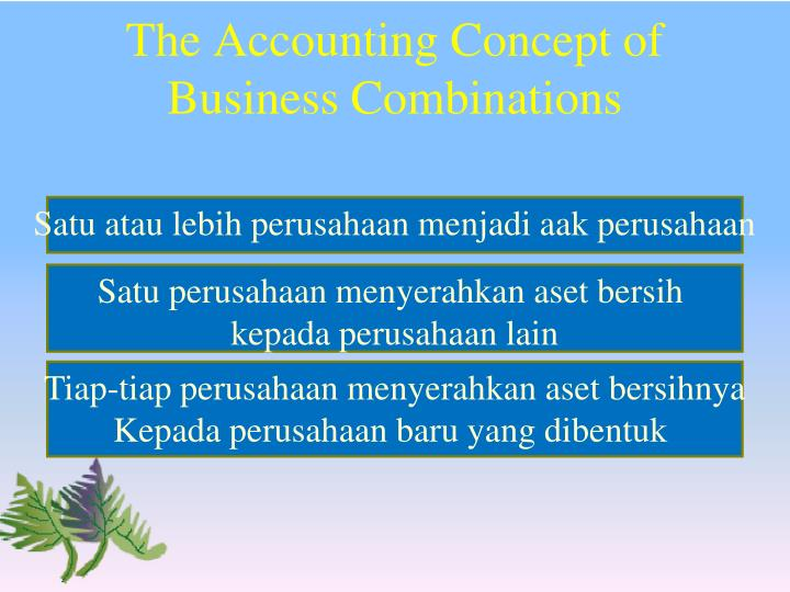 The Accounting Concept of