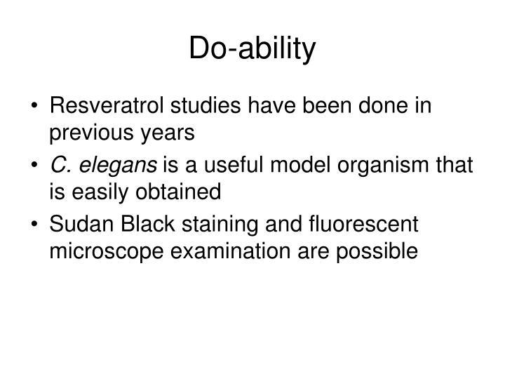 Do-ability