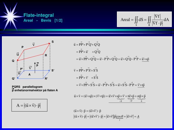 Flate-integral