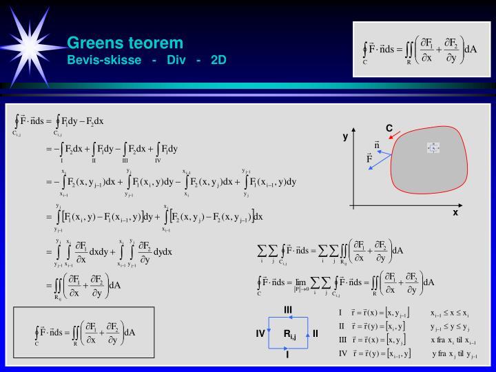 Greens teorem