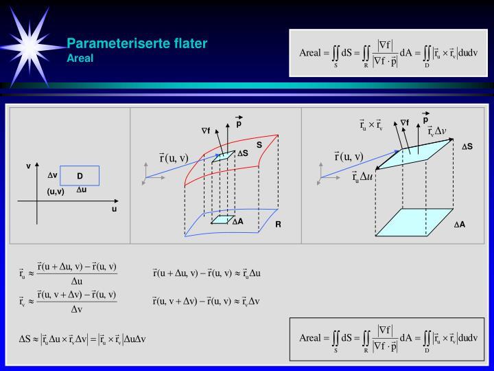 Parameteriserte flater