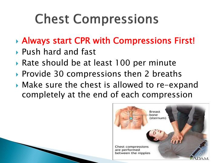 Rate Of Chest Compressions For Adult