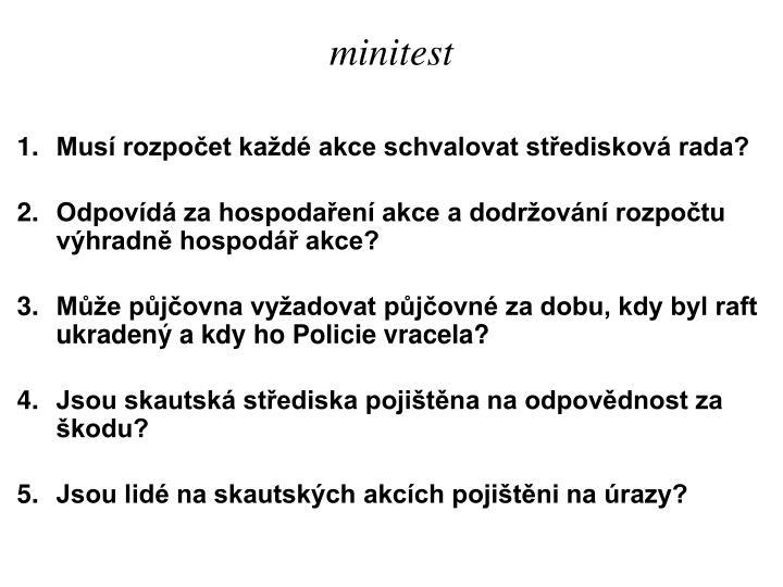 minitest