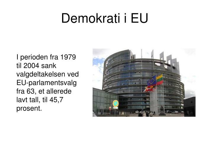 Demokrati i EU