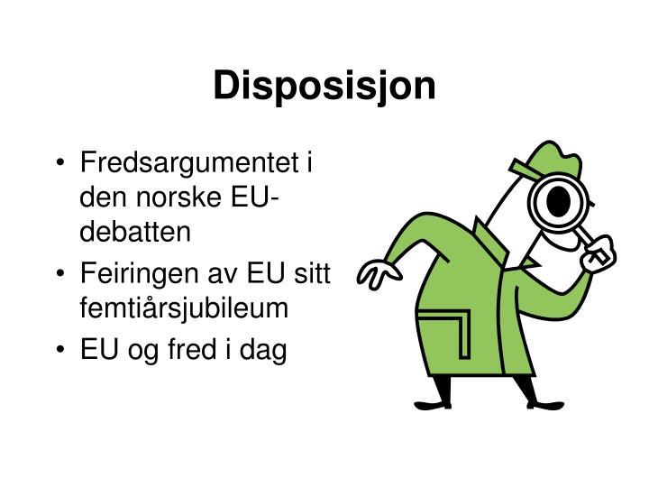 Disposisjon
