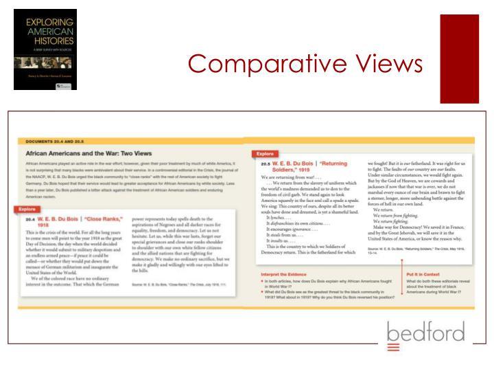 Comparative Views