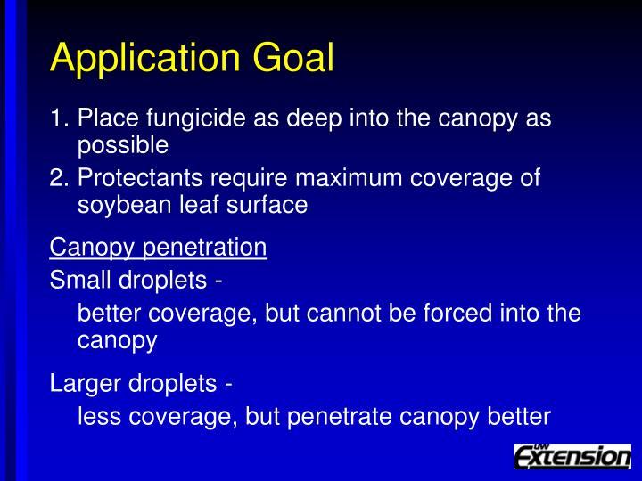 Application Goal