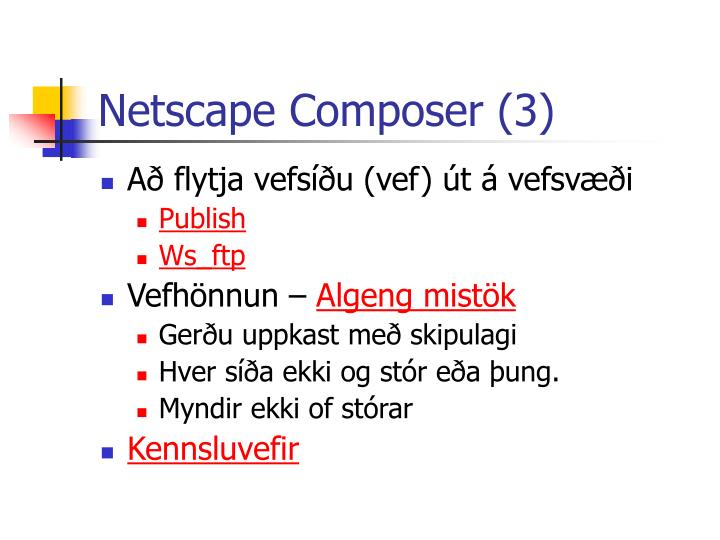 Netscape Composer (3)
