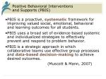 positive behavioral interventions and supports pbis